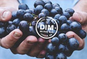 DIM Wine Co. Brand Identity Design