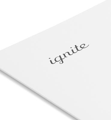 Ignite Logo and Brand Identity Design