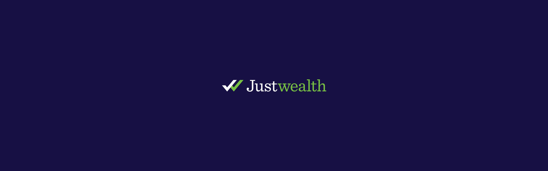 Justwealth Logo Design