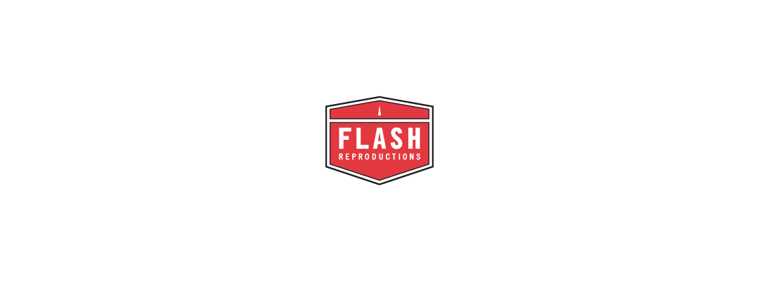 flash reproductions -logo design