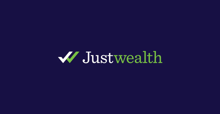 Justwealth Logo, Brand Identity and Content Design
