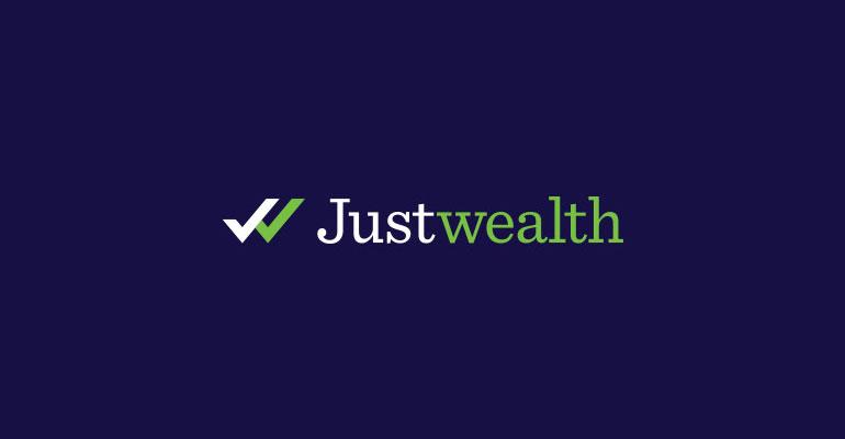 Justwealth Logo, Brand Identity and Content Design