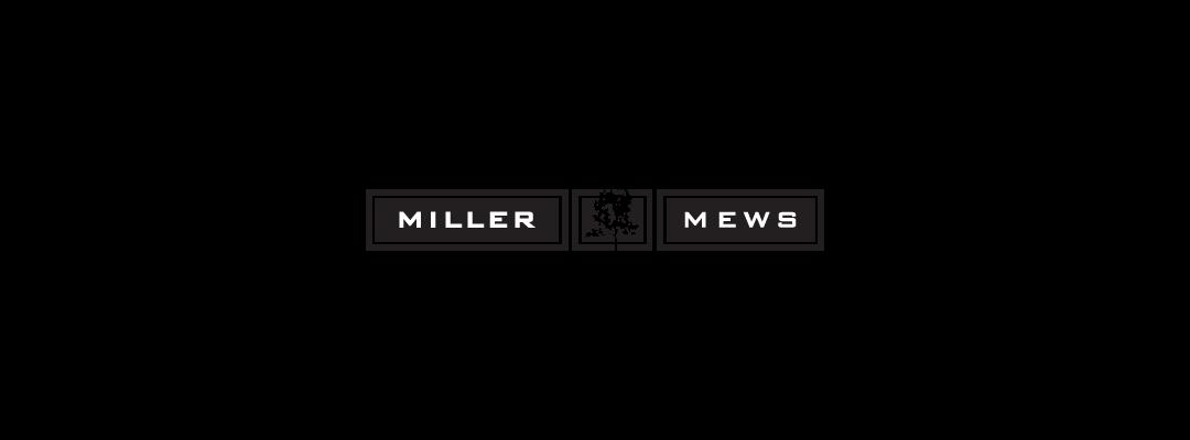 millar mews logo design